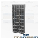 Stack File Shelving Eight-Tier Letter Rack Cabinet Side Tab Folders Open Cabinets
