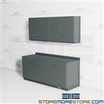 Corporate Services Cabinets Work Counter Millwork Upper Casework Storage Units