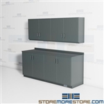 Closed Work Room Cabinets Copy Room Millwork Modular Casework Storage Casegoods