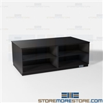 Office Storage Island Casework Cabinets Work Table Copy Print Mail Room Millwork