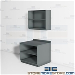 Copy Room Storage Cabinets Casework Countertops Upper Lower Storage Shelves