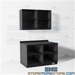 Workroom Casework Furniture Open Modular Cabinets Storage Shelves Office Service