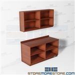 Copy Room Cabinets Open Upper Lower Storage Office Shelves Work Counter Casework