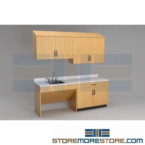 Exam Room Upper Base Cabinets