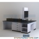Laboratory Casework Furniture Medical Research Lab Tables & Cabinets