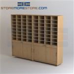 Adjustable Mail Sorters Shelves Freestanding Sorting Cabinets Wall Units