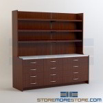 Medication Picking Station Millwork Cabinets Healthcare Casework