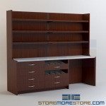 Manufactured Millwork Cabinets for Pharmacies Medication Dispensing