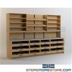 Pharmacy Dispensing Workstation Cabinets Shelves Furniture