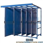 Pull-out Pegboard Tool Trolley Panels Storage Racks for Belts Gaskets Hoses