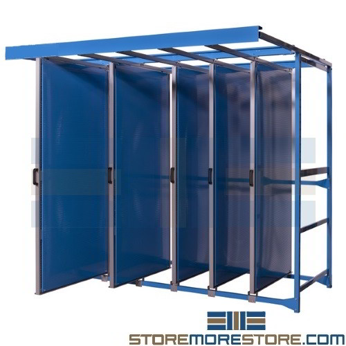 Pull Out Pegboard Tool Trolley Panels Storage Racks For