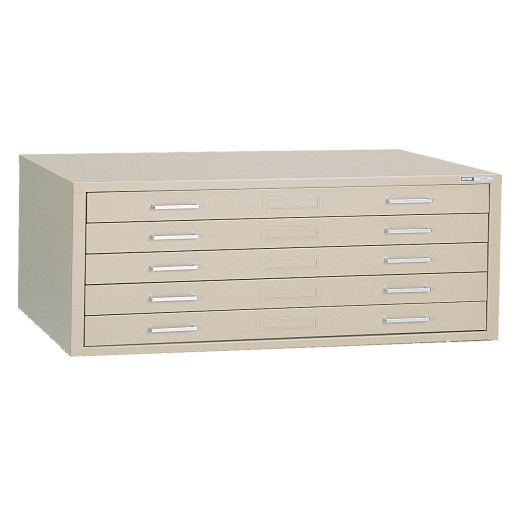 Metal flat file cabinet five drawer holds 39x29 vellum sheets discontinued 5 drawer plan file drawer wdust covers with five 2 malvernweather Gallery