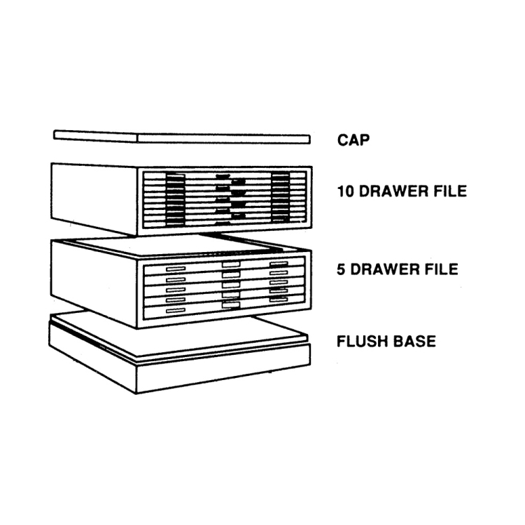 Large plan drawing map storage cabinet holds 51x41 documents free malvernweather Gallery