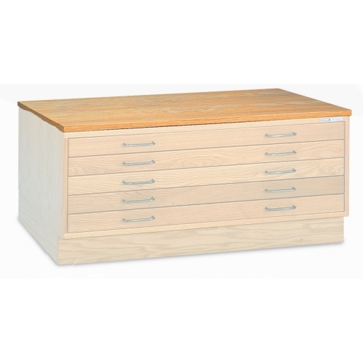Wood cap for plan file cabinets wood flat file accessories out of stock cap wood plan file 40 1316 malvernweather Gallery