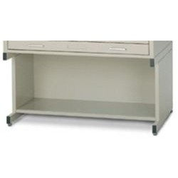 "(Discontinued) 20"" High Base With Bookshelf (46-3/8""W x 35-1/2""D x 20"" H), #SMS-31-7878"