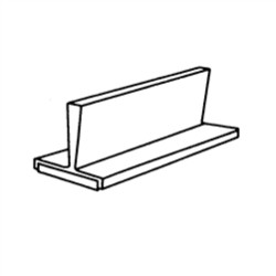 "1-5/8"" High Plastic Magnetic Partitions For Steel Flat File Drawers (6""W x 1-5/8""D x 1-5/8"" H), #SMS-31-7965"