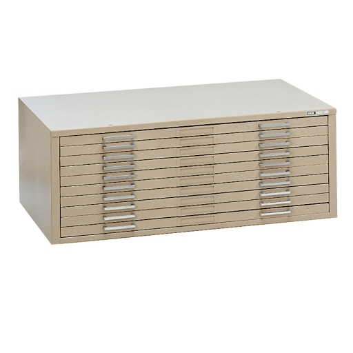 Flat file cabinet with 10 drawers great for blueprint storage out of stock ten drawer file for 24 x 36 sheets malvernweather Gallery