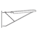 Pivoting Hangers For Plan Drawing Clamps, 12 per carton, #SMS-31-9308