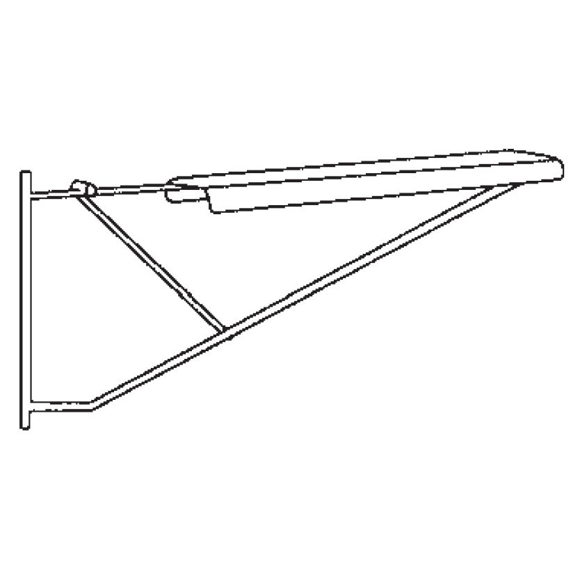 Pivoting Plan Drawing Hangers Mayline Blueprint Clamp Hanger