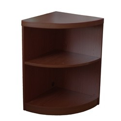 2 Shelf Quarter Round (1 fixed shelf), #SMS-31-ABQ2