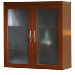 (Out of Stock) Glass Display Cabinet, #SMS-31-AGDC