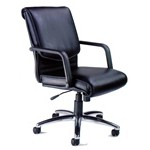 Mercado Leather Series Alliance Chair, #SMS-31-AL