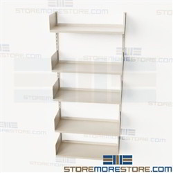 Metal Wall Bookshelves Brackets Standards Adjustable Shelves Books Files Boxes