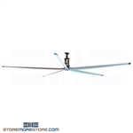 Warehouse Ceiling Fan with 5 Blades & 20' Diameter, #SMS-36-5BL20