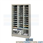 Office Sorting Slots Shelving Rack Organizes Mayline 3665ND1