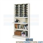 Sorting Workstation Cabinet Office Mail Forms Mayline 3680WS1