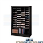 Office Cabinet Multifunctional Storage Binders Mayline 4265NA1