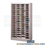 Steel Literature Sorter Cabinet Mail Pigeonhole Mayline 4265NB1