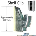 Tambour Door Cabinet Shelf Clips are the same as Mayline File Harbor 91196R