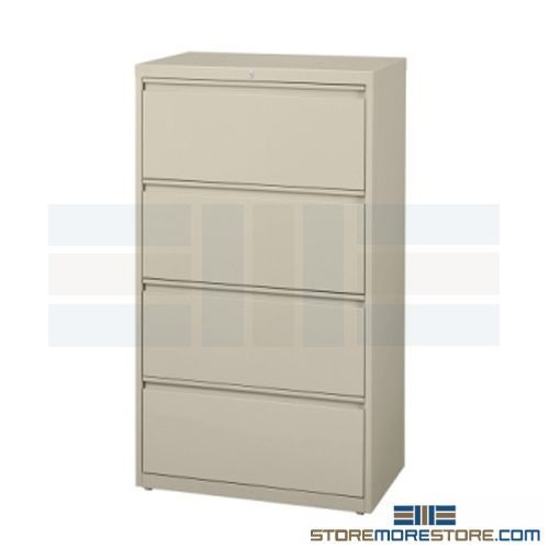 4 Drawer Lateral File Cabinet Free Shipping 42 Quot Wide