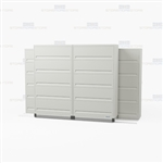 high density five tier flipping door cabinets with Free Shipping, Stores end tab letter and legal files behind locked doors