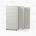 sliding six shelf flip and file end tab cabinet with doors with Free Shipping, Stores end tab letter and legal files behind locked doors