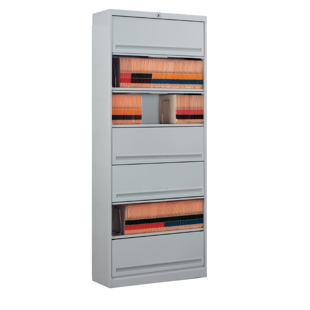 Seven Tier Flip And File Cabinets With Locking Doors That Ships Free,  Stores Both Legal