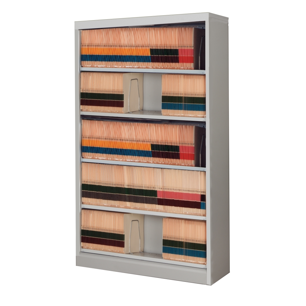 5 Level End Tab File Cabinet Open Shelf Filing Cabinets