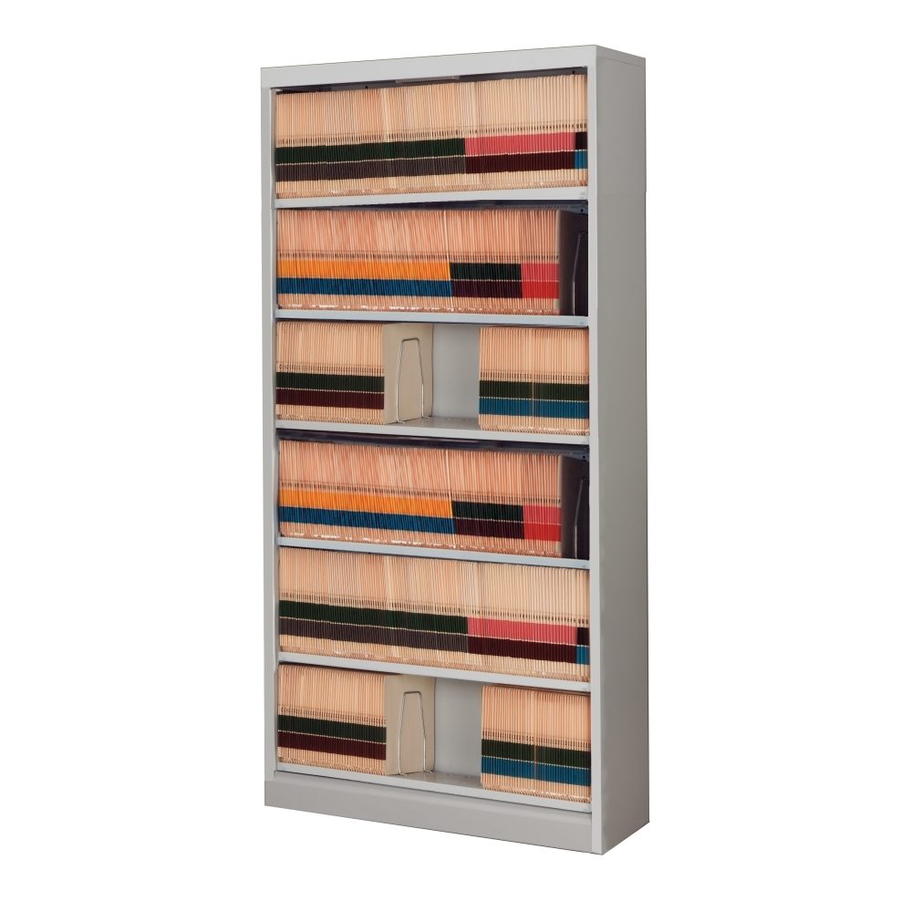 6 Level Side Tab Open Shelf File Cabinet | Filing Cabinets ...