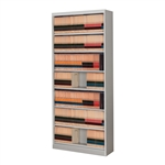 Seven Level End Tab Filing Cabinet without doors are designed to hold Legal Size and Letter Size End Tab Shelf File Folders