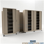 Side to Side Sliding Cabinets on Tracks with Security Doors SMS-37-FH48433