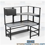 Assembly Workstations Kitting Workbench Repair Tables Furniture TW9 Mayline