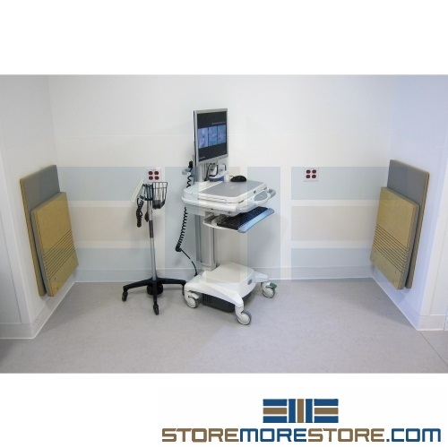 Healthcare Foldaway Wall Chairs Wall Mounted Anti Microbial Anti Bacterial Seating Jumpseat