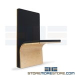 fold down floor mounted seat that attach to walls in your hallways, conference rooms, meeting rooms, waiting areas, take up less room save space than traditional seating