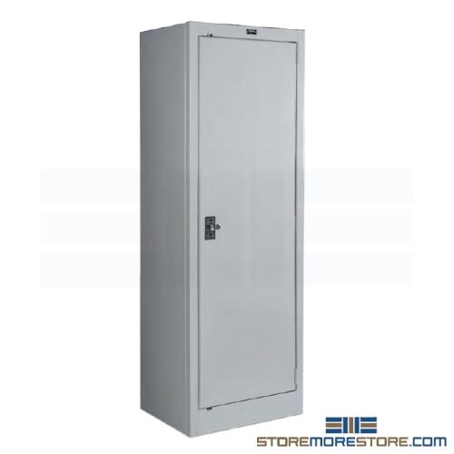 Counter High Slim Storage Cabinet Steel