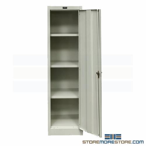 Slim Metal Storage Cabinet Tall Thin