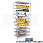 Open Hospital Bin Shelving Medical Supply Rooms Kanban Par Storage Hallowell