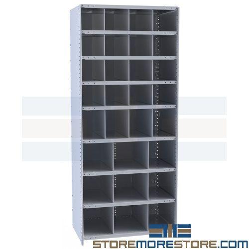 Alternative Views  sc 1 st  StoreMoreStore & Bin Storage Racks Parts Room Shelving Pigeon Hole Compartment Units ...