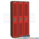 Welded Athletic Lockers PE Dressing Room Lockers Gym Hallowell AWA282-111