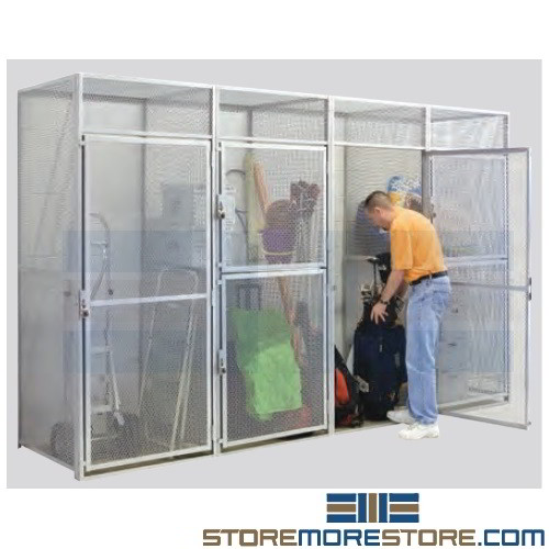 Condo Locker Storage Cages Apartment Residents